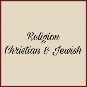 Religion, Christian & Jewish